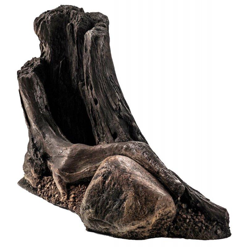 Wurzel Deko deko felsen mit wurzel ca. 40 x 16 x 27 cm mit höhle für aq