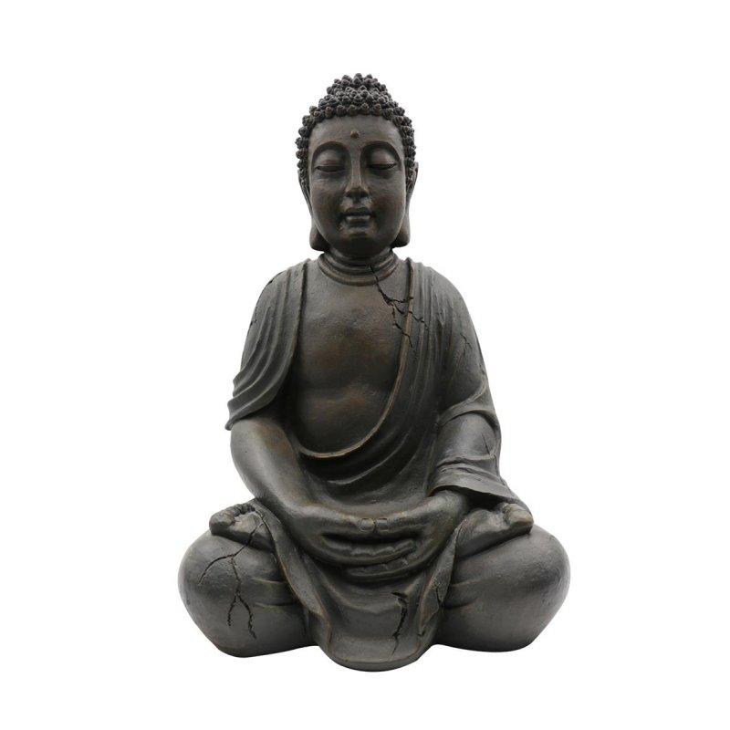 XXL Buddha 100cm, Antik Look, Frostsicher, Wetterbeständig, ASIA, Deko,