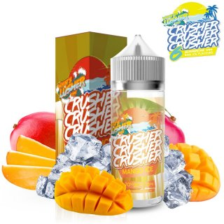 Crusher - Premium Liquid - Shake & Vape - Mango Ice 100ml 0mg