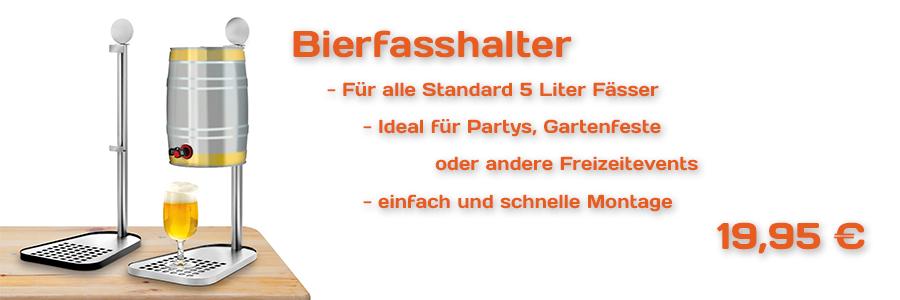 Bierfasshalter